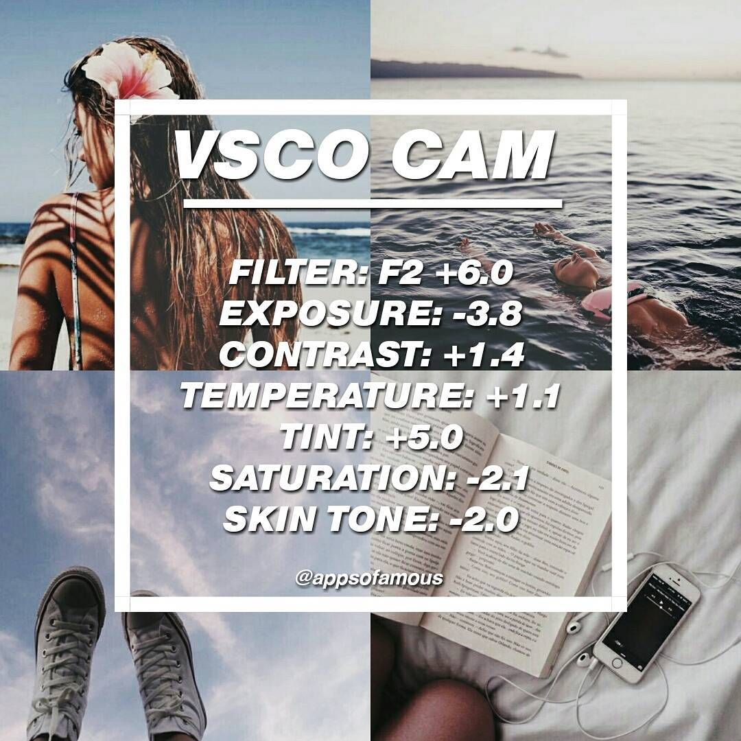 VSCO FILTERS #FREE FILTER!! ☕ | Best used on: almost