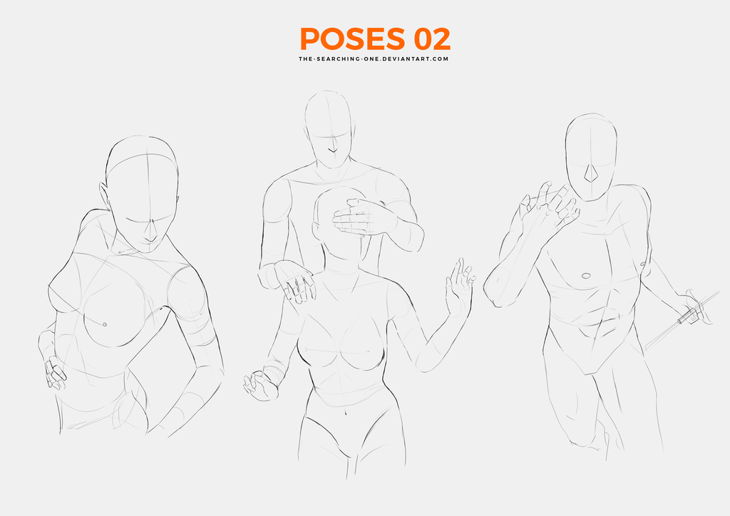 Poses 02 by the-searching-one