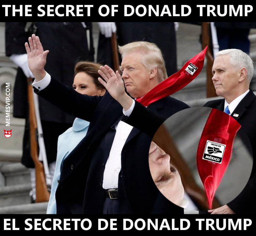 Meme el secreto de Donald Trump - The secret of Donald Trump #trump #donaltrump #trumpmeme #trumpmemes #meme #memes #secret #secreto #mexico #memesespañol #español #englishmeme #usa #eeuu