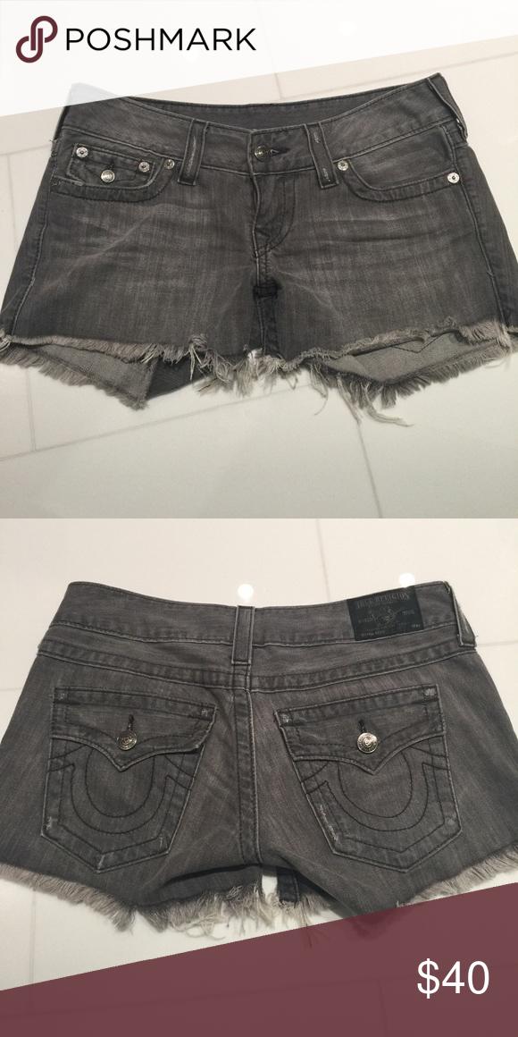 Like New! True Religion Denim Shorts Like new True Religion Shorts Jean Shorts