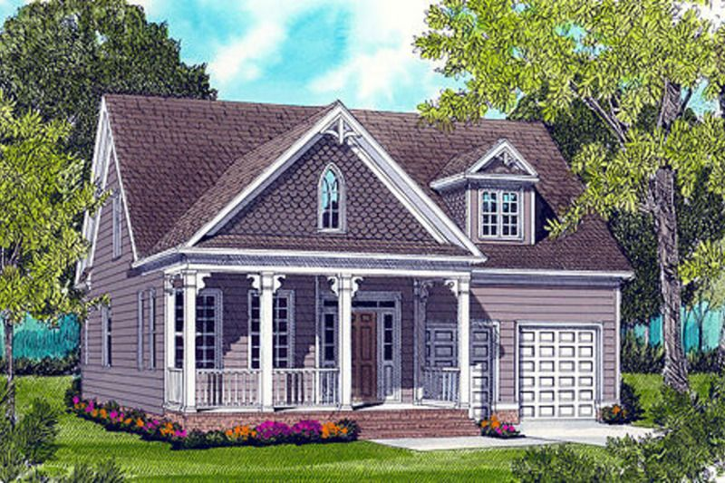 Cottage Style House  Plan 3 Beds 2 5 Baths 2021  Sq Ft