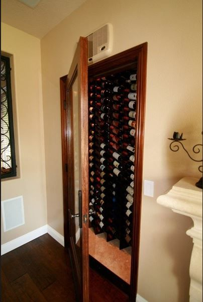 Turn Your Closet Into A Wine Cellar