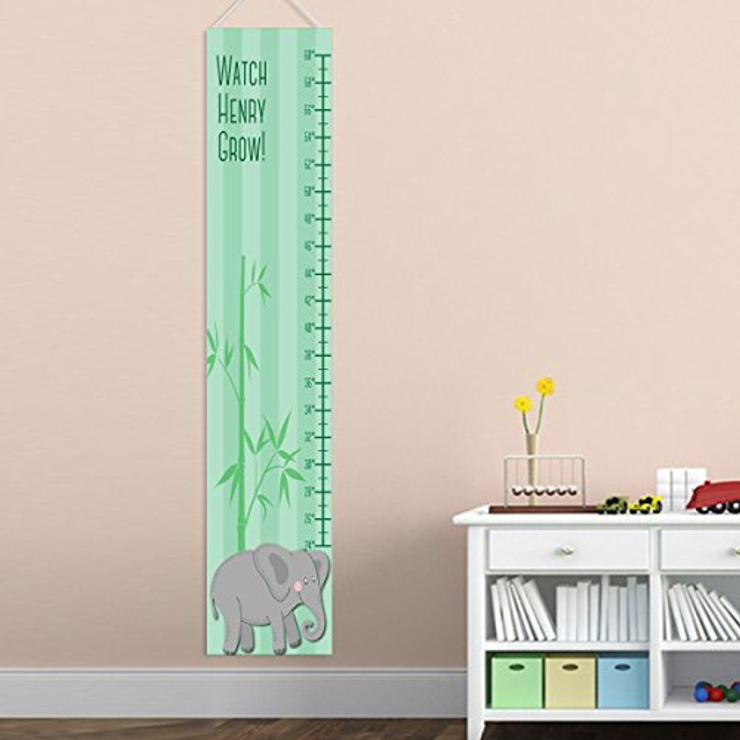 Personalized Elephant Growth Chart For Boys  You Can Get