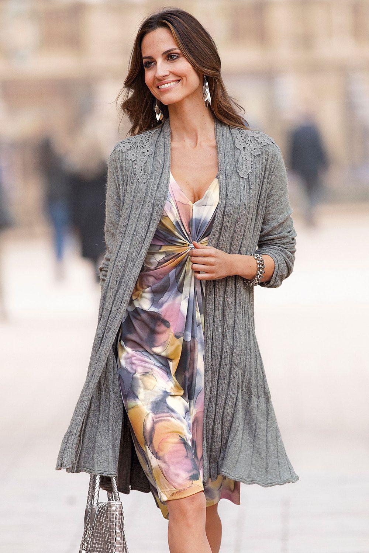 Together Lace Shoulder Cardigan | Tops | Womenswear | EziBuy NZ ...