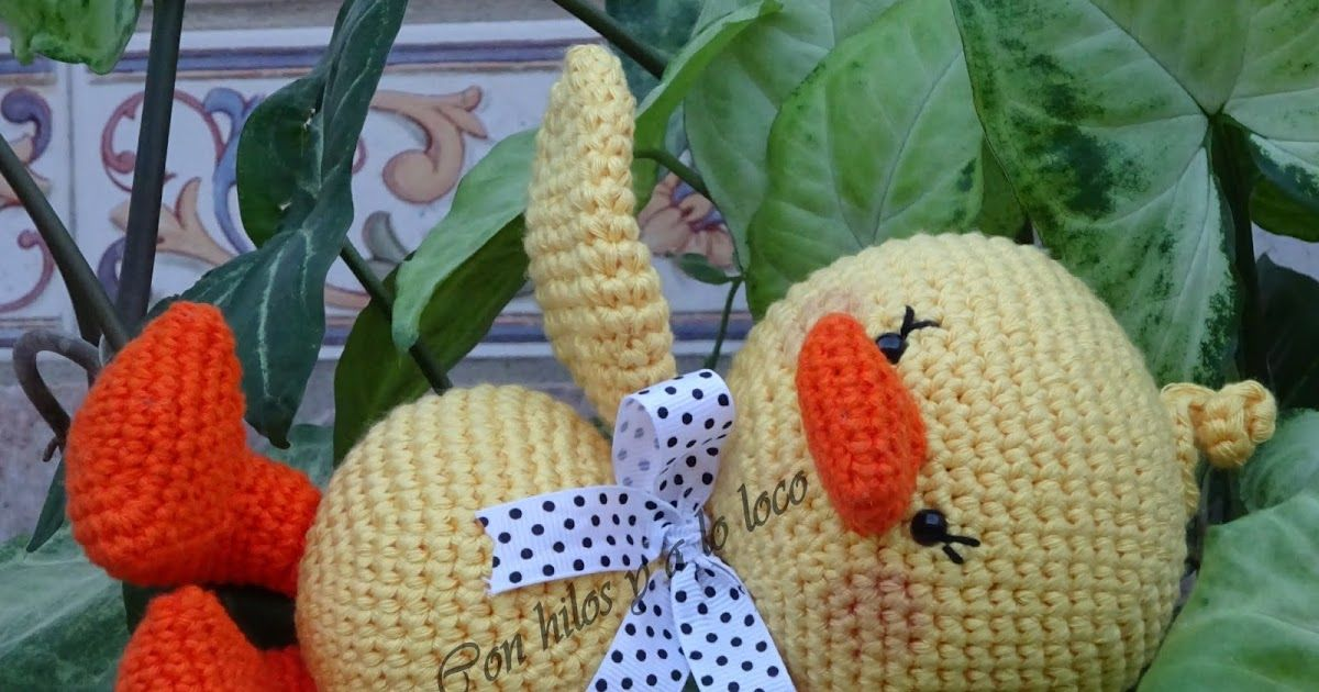 Don Pato es fácil y rápido de tejer, perfecto para las que estáis ...