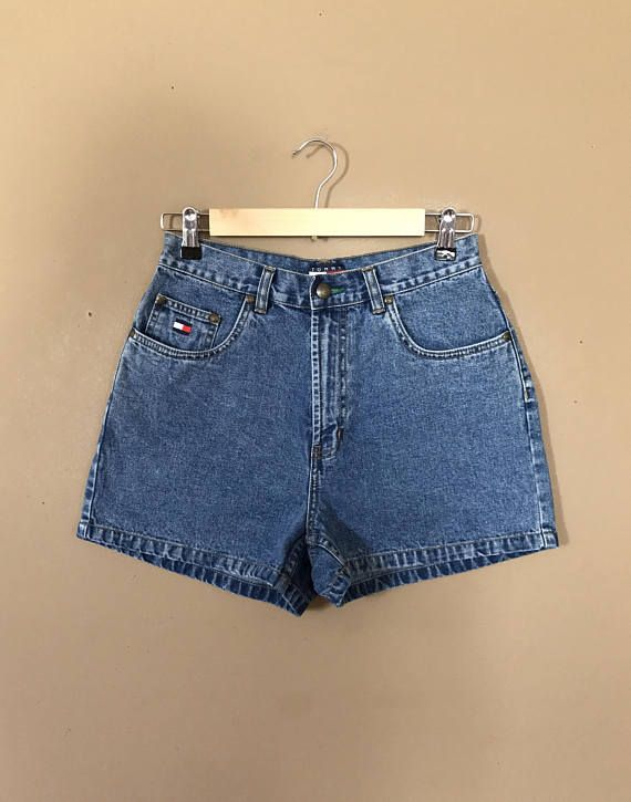 fa23fc29 Waist 26/27 Tommy Hilfiger Shorts/Vintage Tommy Hilfiger/90s shorts/Levi  High Waisted Denim Shorts/J