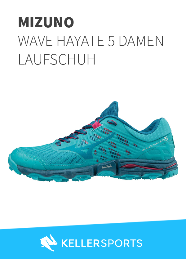 Mizuno Wave Hayate 5 Damen Laufschuh blau | Keller | NEW