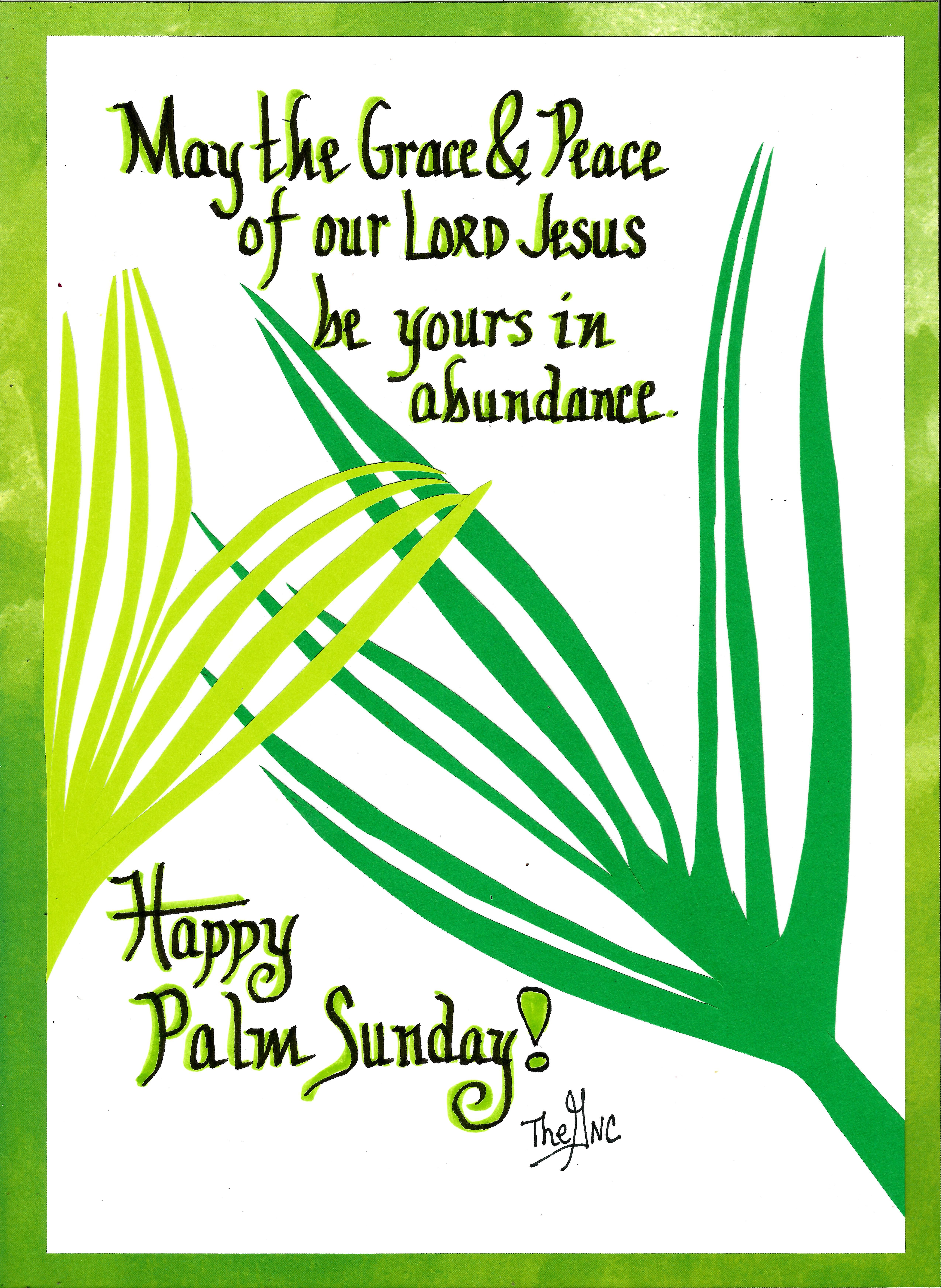 happy palm sunday from the good news cartoon to you!! www.facebook