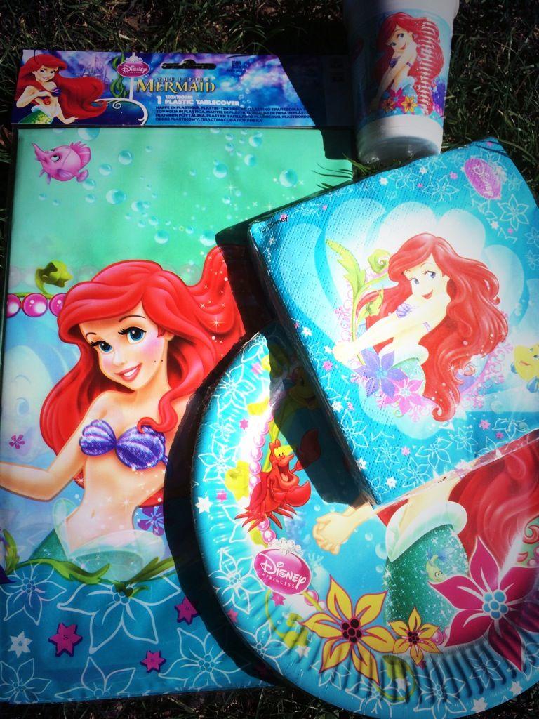 Disney Arielle Meerjungfrau Zauberhaft Schones Partyzubehor Fur Eine Unterwasserparty Disney Kindergeburtstag Motto Arielle
