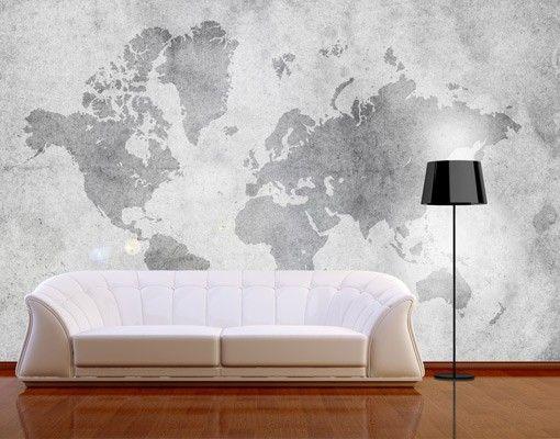 Selbstklebende Tapete - Fototapete Schlafzimmer Pinterest - tapeten trends schlafzimmer