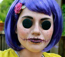 Coraline Makeup Costume Character Halloween Costumes Halloween Costumes Makeup Scary Costumes