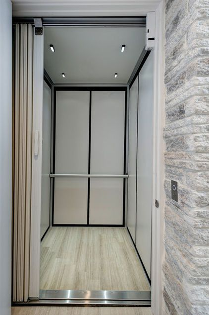 Modern Elevator Design With Simple Shapes And Elegant