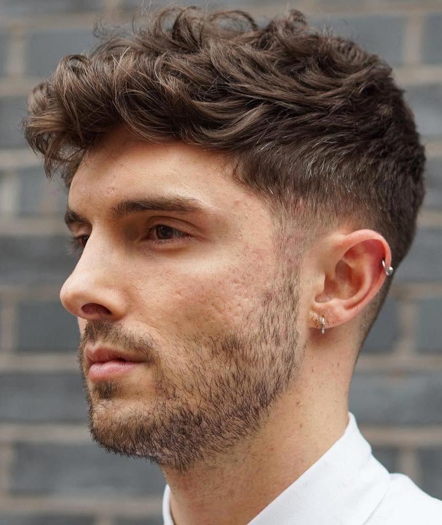 Men S Haircuts Shortmenshairstyleswithbeard Mens Hairstyles Thick Hair Thick Wavy Hair Wavy Hair Men