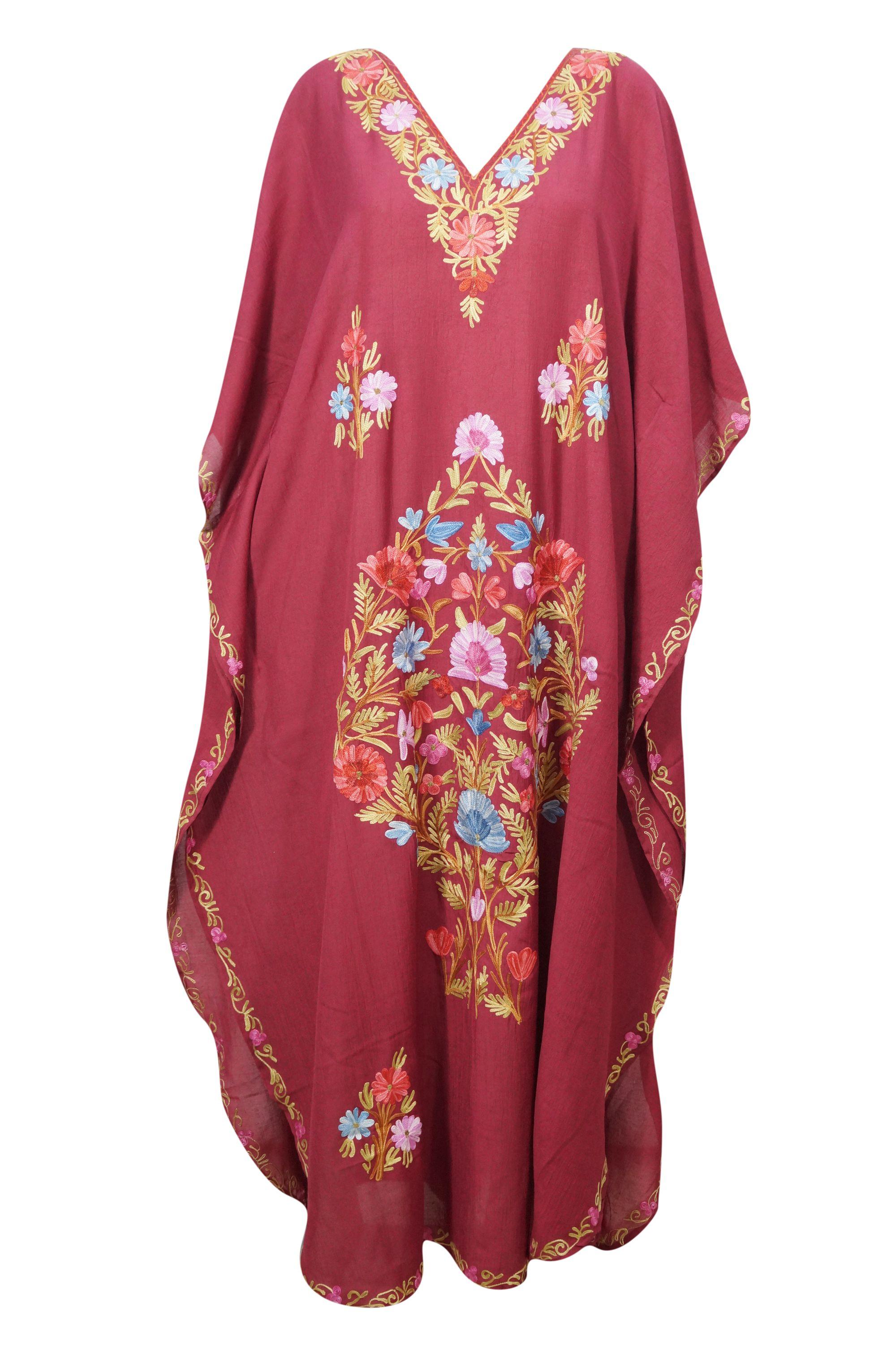 Mogul Interior Mogul Women S Floral Kimono Caftan Beach Cover Ups Resort Wear Evening Maxi Long Dress 3xl Womens Floral Kimono Beach Caftan Long Maxi Dress [ 3004 x 2000 Pixel ]