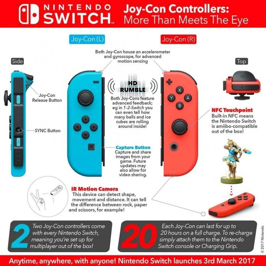 The Nintendo Switch Joy-Con Controller Manual Guide | Video
