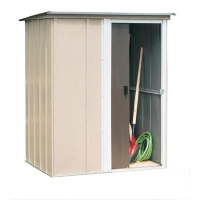 Arrow Brentwood Steel Storage Building 5 Feet x 4 Feet BW54