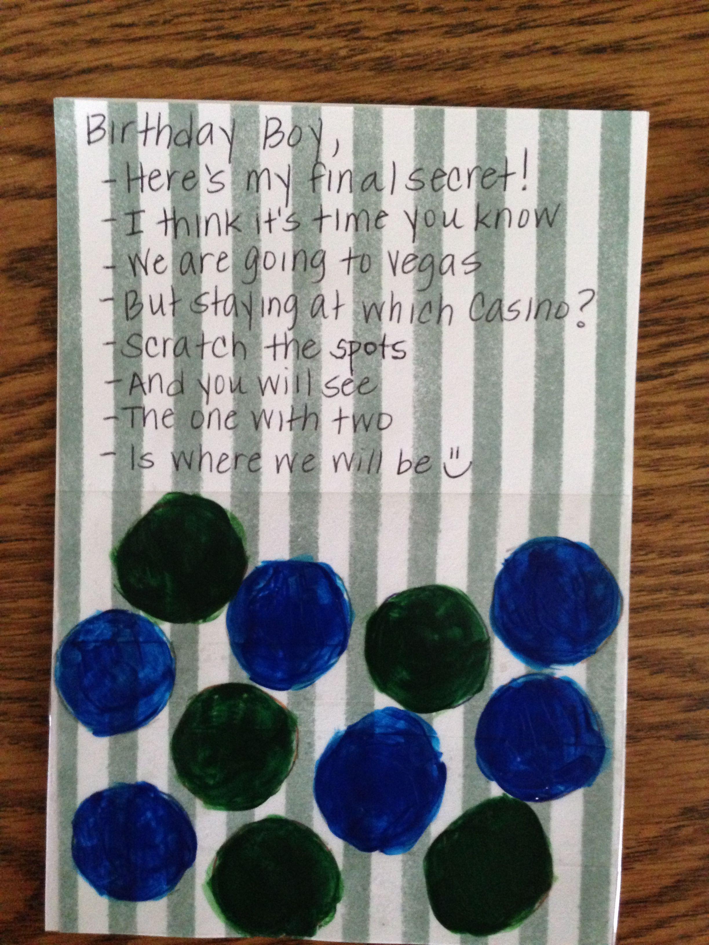 Second part of my boyfriends 30th bday gift DIY scratchers