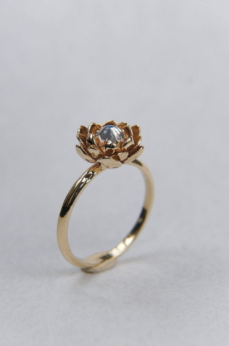 Korean Wedding Ring Design Flower Jewelry Pinterest Rings