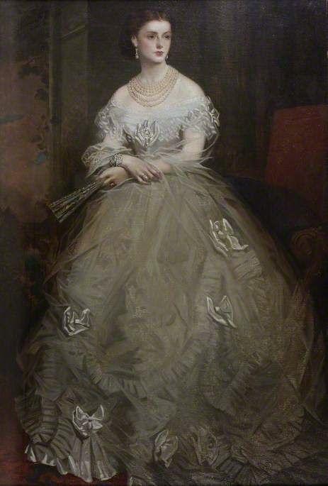 Georgina Ward (1846–1929), Countess of Dudley ~ Richard Buckner ~ (1812-1883)