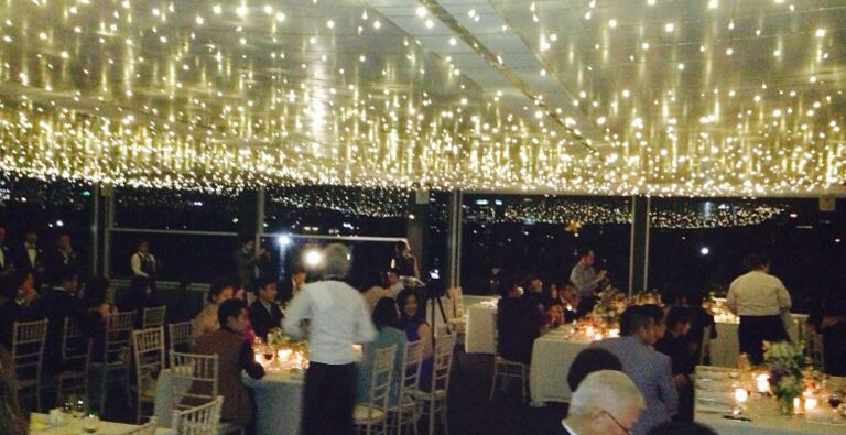 Ceiling At Carousel Albert Park Just Sparkled Tonight Www Foodanddesire