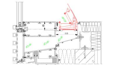 Curtain Wall Ventilation Curtain Wall Fresh Air Purifier Floor
