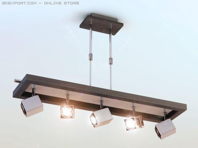 Download free 3D Model Lamp hitech 579105P5CHWGWD c4d, obj, 3ds, fbx, ma, lwo 21000
