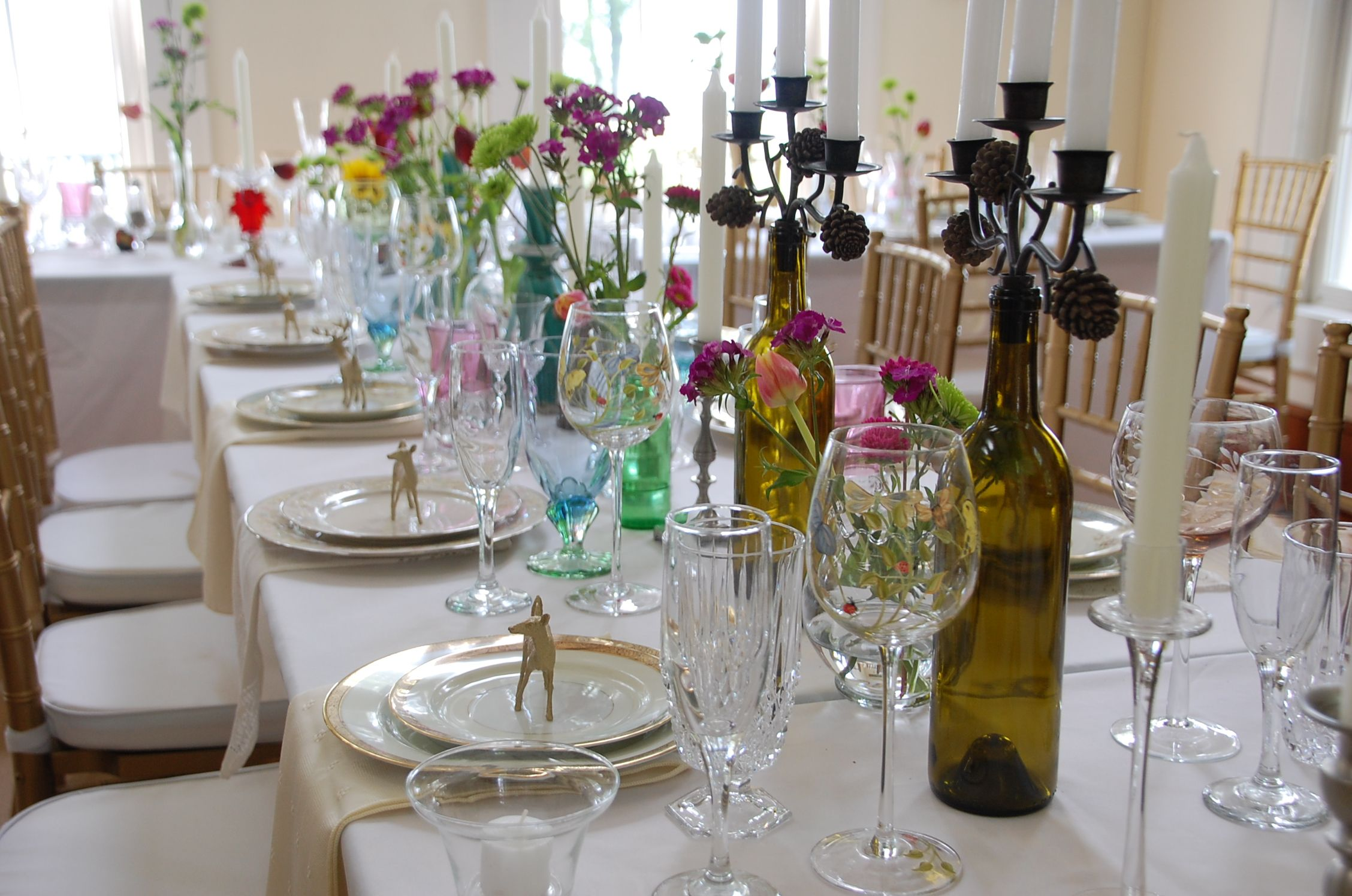Boho elegant eclectic table decor table decorations diy