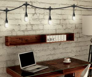 Creative Office Studio Lighting With Enbrighten Cafe Lights Available At Www Cafelights