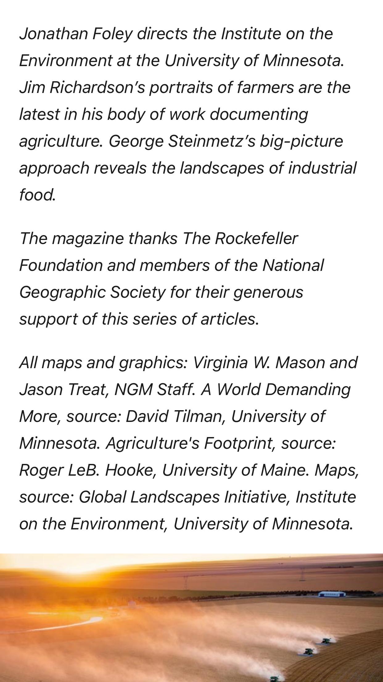103018 In 2020 University Of Minnesota Big Picture Farmer