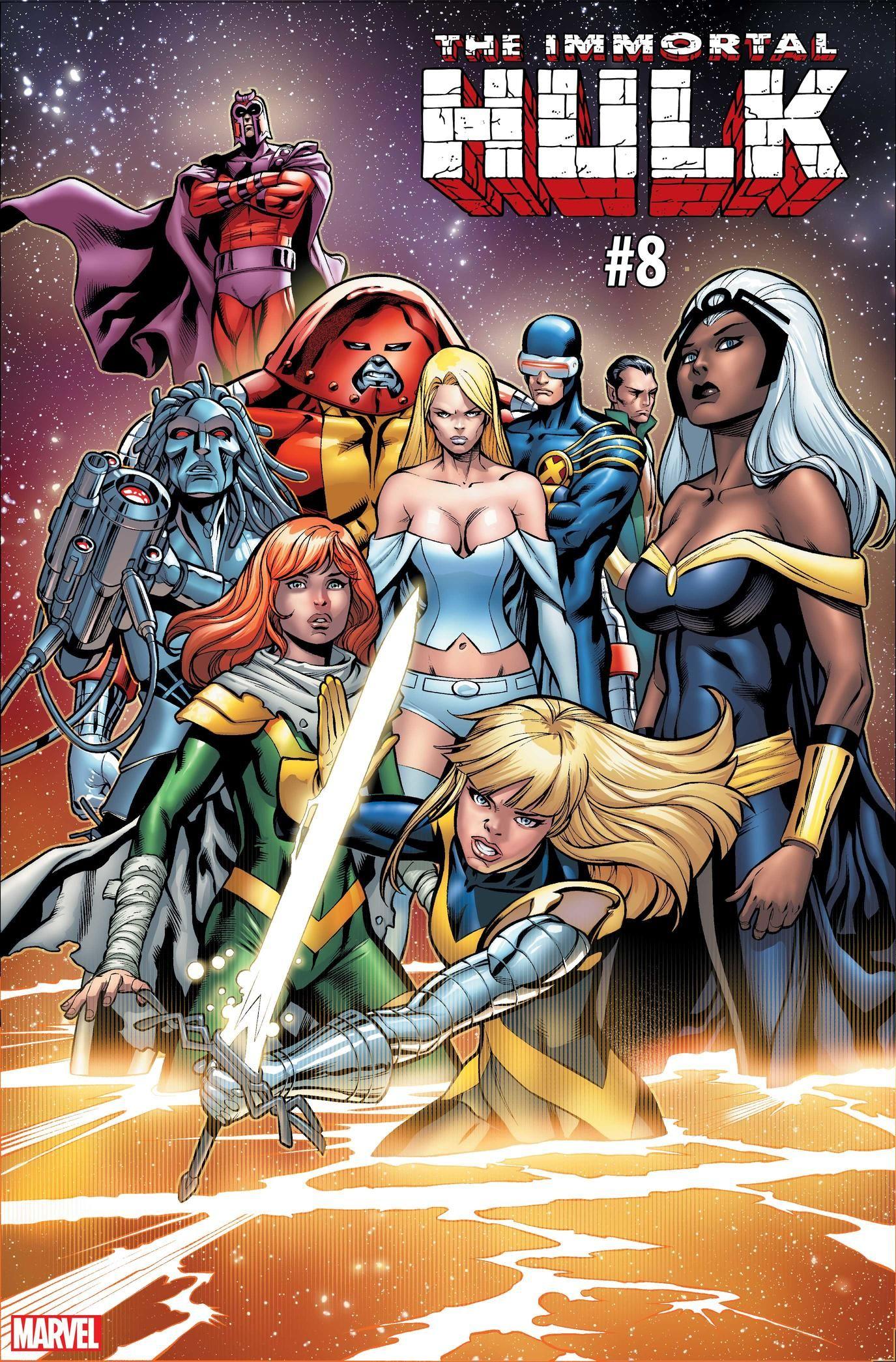 Five More Variant Covers Celebrating Uncanny X Men 1 Hulk Comic Marvel Comics X Men