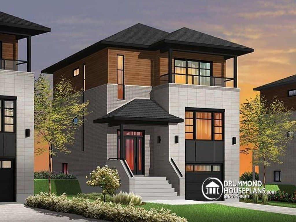 Beautiful House Plans for Narrow Lots - Pinoy House ...