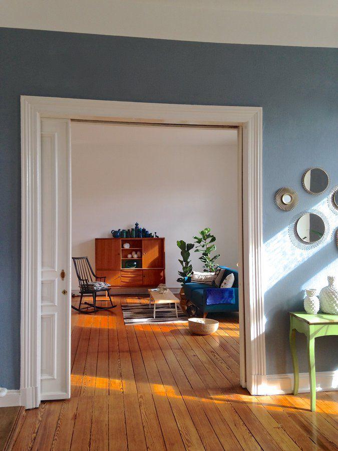 ☼ Sonnenkuss ☘ | Brass mirror, Fiddle leaf fig and Fiddle leaf
