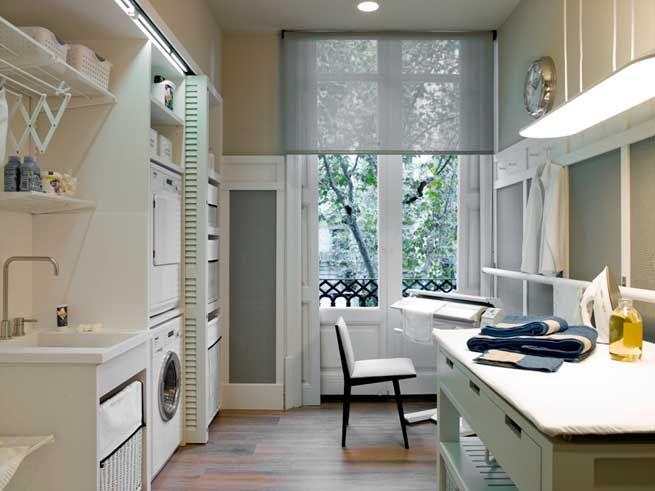 Lovely lavanderia pinterest planchas depto y google for Cuarto de la colada