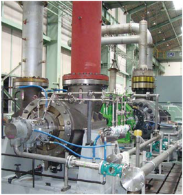 Cdky Boiler Feed Booster Pump Booster Turbine Installation