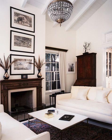 Csi Miami Star Emily Procter S Los Angeles Home Living Room Photos Home Living Room Home Decor