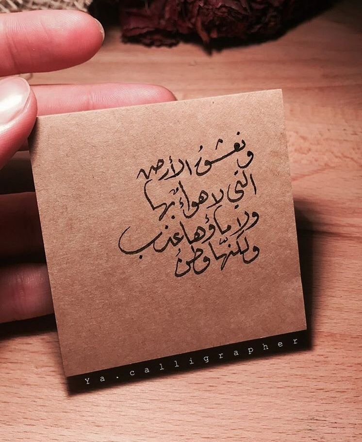 ولكنها وطن Arabic Quotes Words Inspirational Quotes