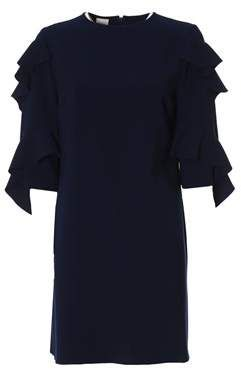 63534ae72b Women's Blue Polyester Dress. #Women#Pinko#Blue | fashion | Dresses ...