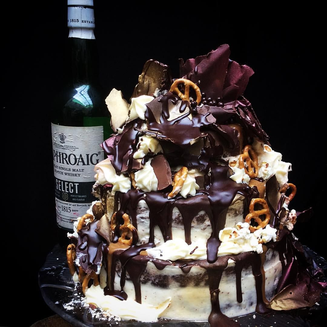 Happy friday folks on the cart now chocolate caramel laphroaig