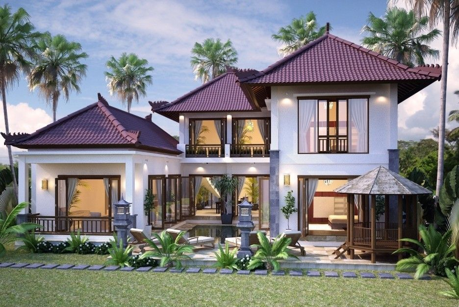 Stunning Tropical Home Design Plans Contemporary - Decorating ...