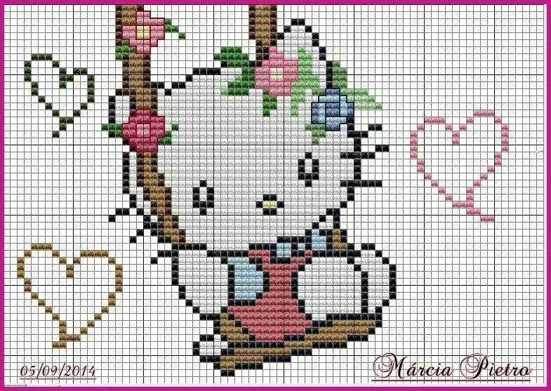 Hello Kitty en Columpio