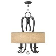 View the Hinkley Lighting 4474 4 Light 1 Tier Chandelier from the Marion Collection at LightingDirect.com.