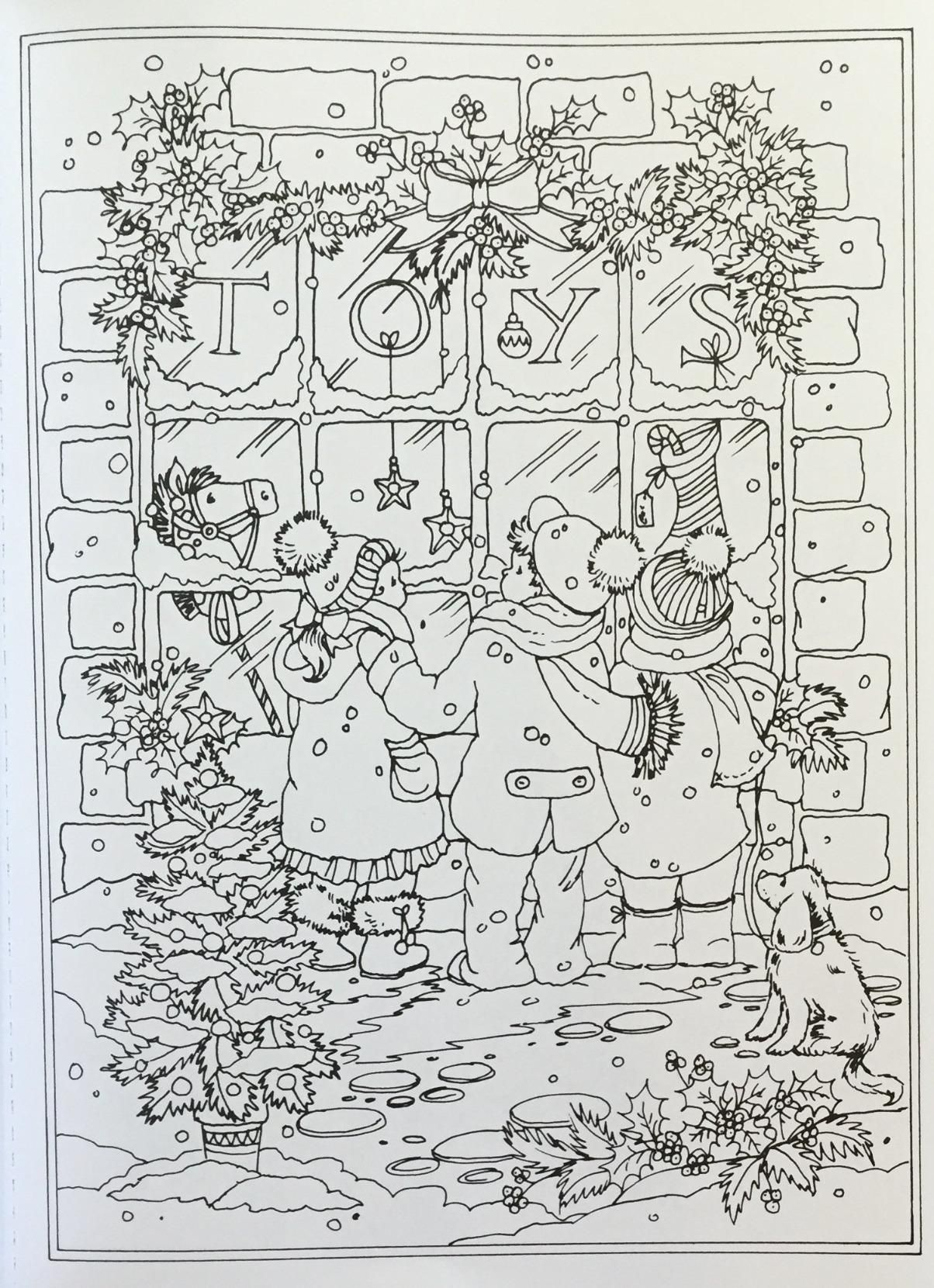 Coloring pages for donna flor - Amazon Com Creative Haven Winter Wonderland Coloring Book Adult Coloring 9780486805016