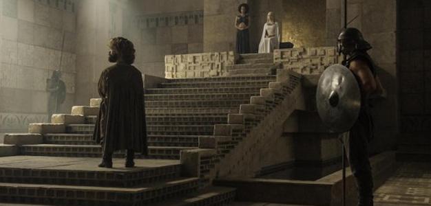 Tyrion Lannister e Daenerys Targaryen s05e08