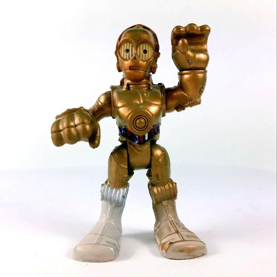 RARE CHEWBACCA PLAYSKOOL GALACTIC HEROES STAR WARS JEDI FORCE Boy Toy