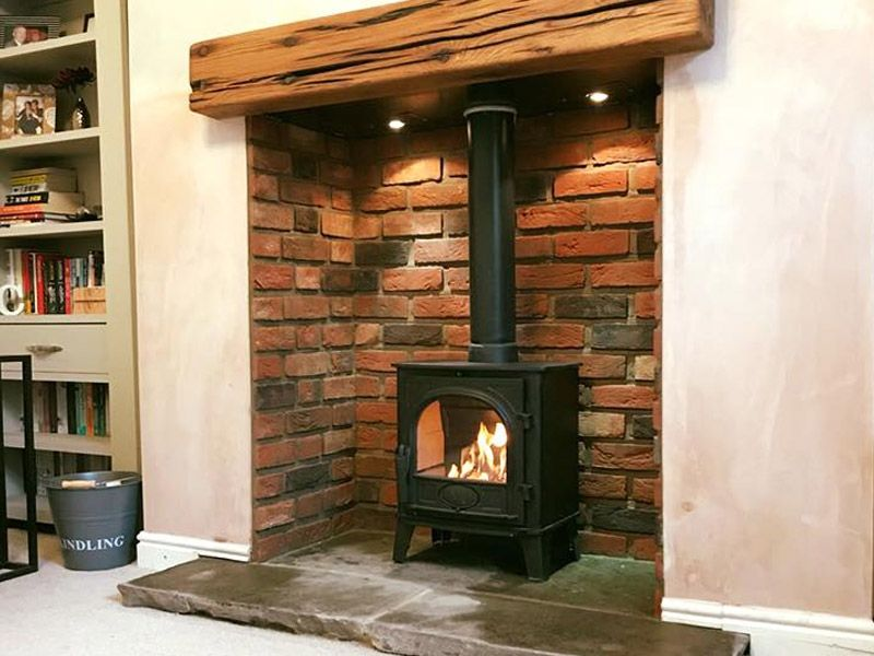 Gallery Stove Fireplace Slate Hearth Stove Installation