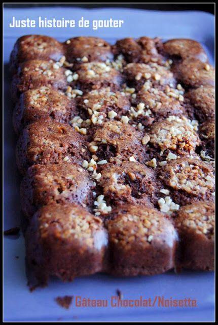 Juste histoire de goûter: Gâteau Chocolat - Noisettes (avec des blancs d'oeufs)