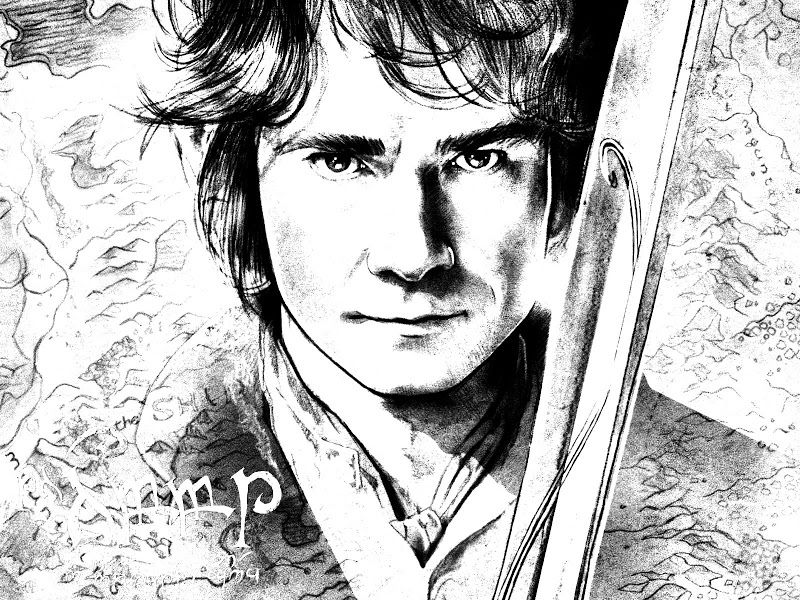 hobbit colorin book. Yes, please!. | dibuixos | Pinterest | Colorin ...