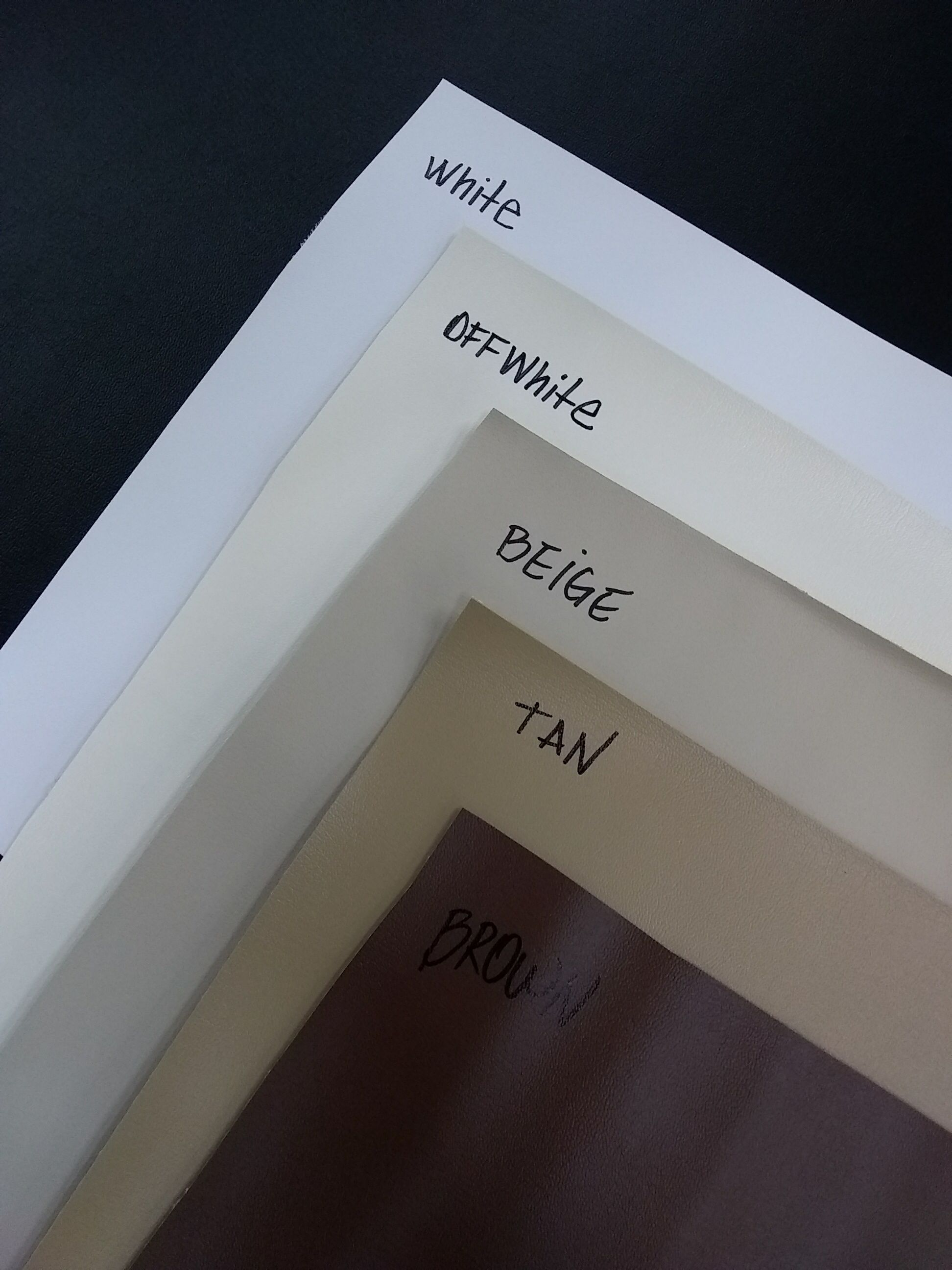 Marine Vinyl Upholstery Samples - Black | Marine Vinyl