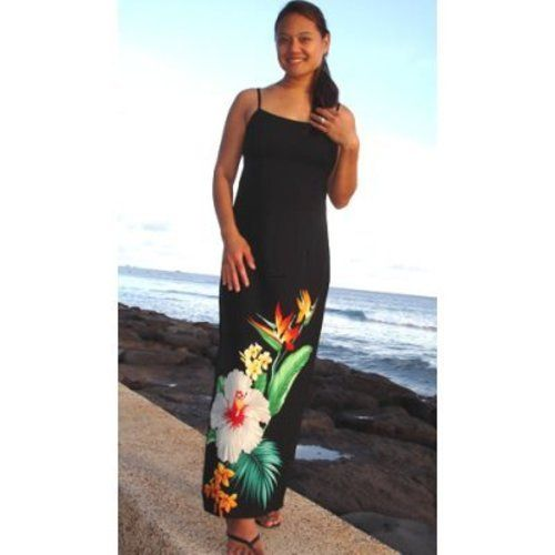 hawaiian maxi dress plus size | Hawaiian Dresses Plus Sizes, A ...