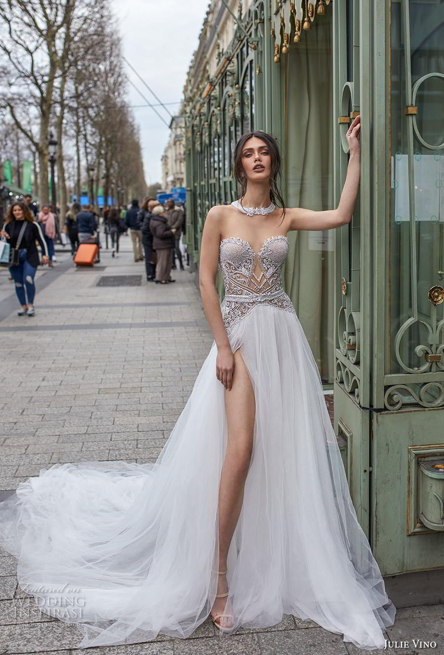 "Julie Vino 2019 Wedding Dresses — ""Paris"" Bridal Collection #weddingdress"